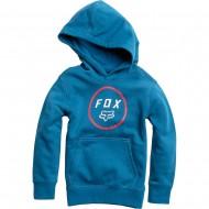 OFFER FOX YOUTH SETTLED PULLOVER FLEECE BLUE