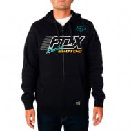 OFFER FOX FLECTION ZIP FLEECE BLACK