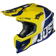 CASCO JUST1 J12 UNIT AZUL/AMARILLO