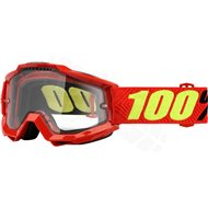 GAFAS 100% ACCURI ( ENDURO ) SAARINEN DOBLE LENTE TRANSPARENTE