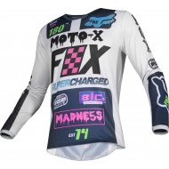 OFFER FOX KIDS 180 CZAR JERSEY 2019 COLOR LIGHT GREY