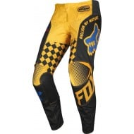 OFFER FOX YOUTH 180 CZAR PANT 2019 COLOR BLACK / YELLOW