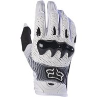 FOX BOMBER GLOVE COLOR WHITE / BLACK