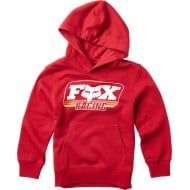 OUTLET SUDADERA INFANTIL FOX THROWBACK COLOR ROJO