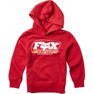 OFFER FOX YOUTH THROBACK PULLOVER COLOR RED