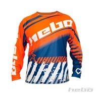 CAMISETA INFANTIL HEBO END-CROSS STRATOS COLOR LIMA