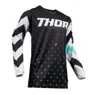 OUTLET CAMISETA THOR PULSE STUNNER S9 OFFROAD 2019 NEGRO /