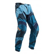 THOR SECTOR CAMO OFFROAD PANT 2020 BLUE/BLACK COLOUR