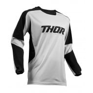 THOR TERRAIN OFFROAD JERSEY 2020 LIGHT GRAY/BLACK COLOUR