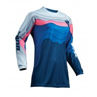 OUTLET CAMISETA MUJER THOR PULSE DEPTHS S9W OFFROAD 2019 OCEANO