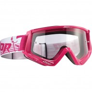 OFFER THOR CONQUER OFFROAD GOGGLES 2019 PINK/WHITE
