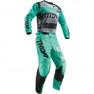 OUTLET COMBO INFANTIL THOR PULSE SAVAGE JAWS S9Y OFFROAD 2019 MENTA / NEGRO