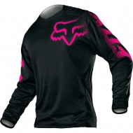 FOX YOUTH GIRLS BLACKOUT JERSEY 2020 BLACK / PINK COLOUR
