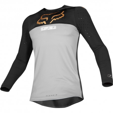 FOX FLEXAIR ROYL JERSEY 2019 COLOR GREY 21716-006 - MotocrossCenter.com 76456e802de