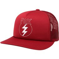OUTLET GORRA FOX REPENTED ROJO OSCURO