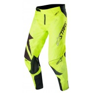 OFFER ALPINESTARS TECHSTAR FACTORY PANTS 2019 COLOR YELLOW FLUO / BLACK