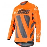 OUTLET CAMISETA ALPINESTARS RACER BRAAP 2019 COLOR ANTRACITA /
