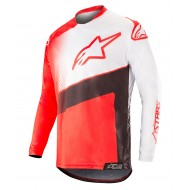 ALPINESTARS RACER SUPERMATIC JERSEY 2019 COLOR RED / BLACK / WHITE