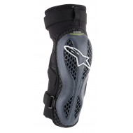 ALPINESTARS SEQUENCE KNEE PROTECTOR 2020 COLOR ANTHRACITE / YELLOW FLUO