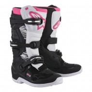 ALPINESTARS STELLA TECH 3 WOMEN BOOTS 2020 BLACK / WHITE / PINK COLOUR