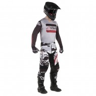 OFFER COMBO ALPINESTARS RACER TACTICAL 2019 COLOR BLACK / GRAY / BURGUNDY