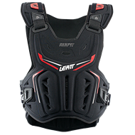 PETO LEATT 3DF AIRFIT 2021 COLOR NEGRO/ROJO