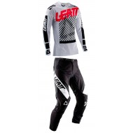 OUTLET COMBO LEATT GPX 4.5 2019 COLOR BLANCO / NEGRO