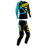OFFER YOUTH COMBO LEATT GPX 3.5 2019 COLOR BLACK / LIME