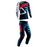 OUTLET COMBO LEATT GPX 5.5 2019 COLOR TINTA / AZUL