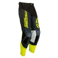 PANTALON MOOSE M1 2019 COLOR BLACK / HI VIZ AMARILLO
