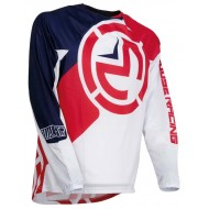 MOOSE QUALIFIER JERSEY 2019 COLOR RED / WHITE / BLUE