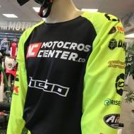 CAMISETA MOTOCROSSCENTER TEAM 2019 COLOR AMARILLO/NEGRO