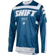 OFFER SHIFT JERSEY 3LACK STRIKE 2019 COLOR BLUE