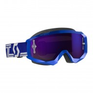 GAFAS SCOTT HUSTLE X MX 2019 COLOR AZUL / BLANCO - LENTE MORADA