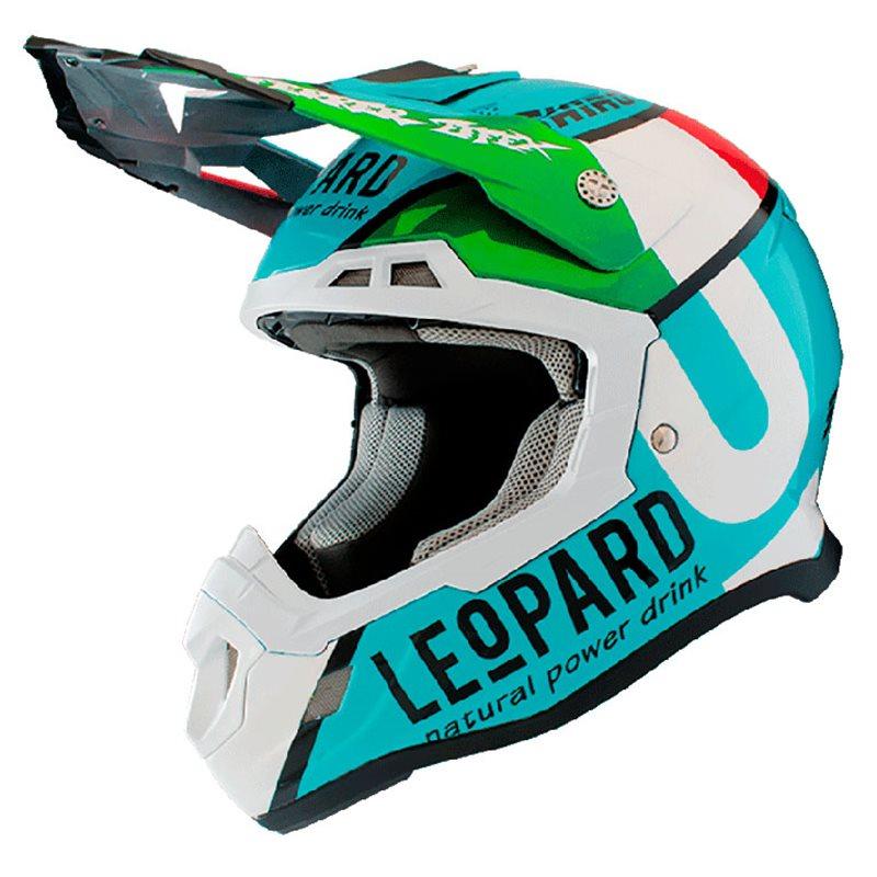 artesanía exquisita varios estilos buscar el más nuevo SHIRO HELMET MX-917 LEOPARD 2019 COLOR BLUE 1211-0007 - MotocrossCenter.com
