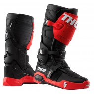 THOR RADIAL MX BOOTS 2020 RED / BLACK COLOUR