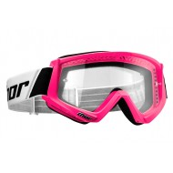 THOR YOUTH COMBAT GOGGLES PINK FLUO COLOUR