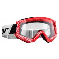 THOR YOUTH COMBAT CAP GOGGLES 2021 RED / WHITE COLOUR