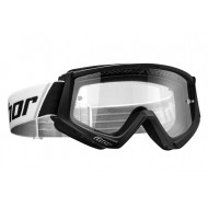 THOR YOUTH COMBAT GOGGLES 2021 BLACK / WHITE COLOUR