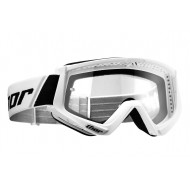 THOR YOUTH COMBAT GOGGLES WHITE / BLACK COLOUR