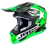 OUTLET CASCO INFANTIL JUST1 J32 MOTO X VERDE TALLA L
