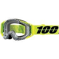MOTOCROSS GOGGLE 100% RACECRAFT ANDRE MIRROR SILVER LENS