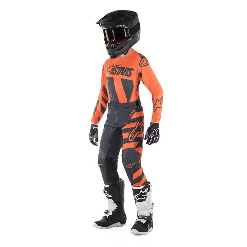 Usa Combo Offer Inf Braap Anthracite L Fluo 26 Orange Youth Size Alpibrapan26l Alpinestars Racer 2019 2HI9WYED