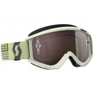 OUTLET GAFAS SCOTT RECOIL XI COLOR BEIGE/MARRON - LENTE PLATA CHROME WORKS