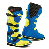 TCX COMP EVO 2 MICHELIN BOOTS COLOR ROYAL BLUE / YELLOW FLUO