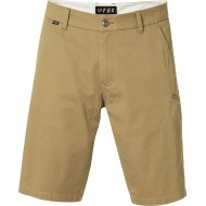 OFFER FOX ESSEX SHORT PANTS DARK KHAKI COLOUR