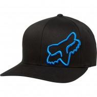 FOX FLEX 45 FLEXFIT HAT BLACK / BLUE COLOUR