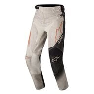 YOUTH ALPINESTARS RACER TECH PANTS 2020 ORANGE FLUO/WHITE/BLUE COLOUR