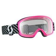 OUTLET GAFAS INFANTILES SCOTT BUZZ MX 2019 COLOR ROSA - LENTE TRANSPARENTE