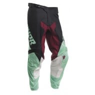 PANTALÓN THOR PULSE AIR FACTOR 2020 COLOR NEGRO / MENTA